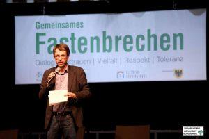 Dr. Stefan Mühlhofer , Leiter der Dortmunder Kulturbetriebe, sprach Worte der Erinnerung.