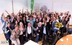 Einen deutlichen Wahlsieg fuhren die Grünen in Dortmund ein - sie sind der Wahlsieger.