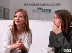 Swenja Reil (l) und Hannah Fischer