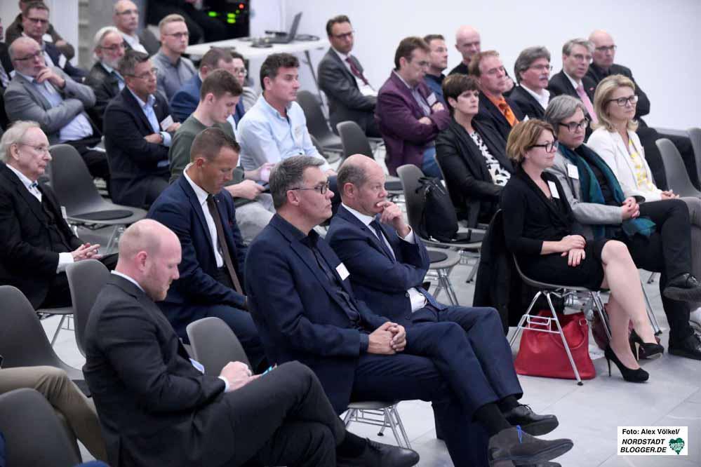 Die SPD hatte Olaf Scholz zum 1. Dortmunder Wirtschaftsforum eingeladen.