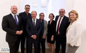 Die Dortmunder SPD freute sich über den Besuch aus Berlin.