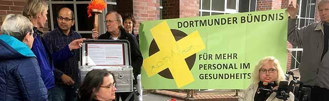 """""""Bündnis für mehr Personal im Gesundheitswesen"""" setzt auf gemeinsames Engagement gegen Pflegenotstand in Dortmund"""