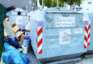Depotcontainer-Stellplatz Oberadener Straße
