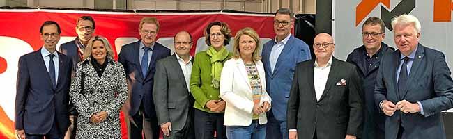 Richtfest für Dortmunds größten Kühlschrank: Das neue REWE-Frischelager wächst auf 160.000 Quadratmetern