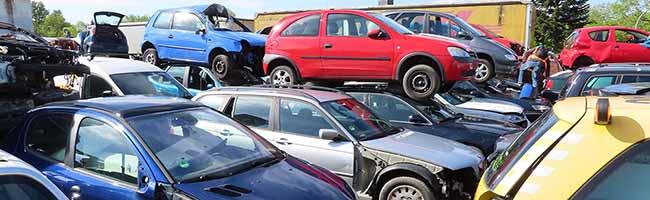 Schwere Umweltverstöße auf illegalem Schrottplatz mit über 100 Fahrzeugen: Altöl und Betriebsmittel flossen ins Erdreich