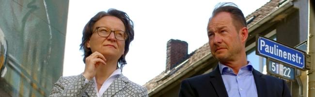 Ministerin in Dortmund: Gründerzeit-reloaded, Energie-Plus-Quartier und gute Nachbarschaften am Borsigplatz als Thema