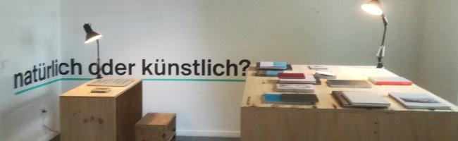 """""""vom blättern und wischen""""- eine neue Ausstellung der FH Dortmund mit und um Bücher im Künstlerhaus"""