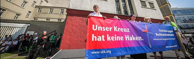 Die Kirchentags-Stadt Dortmund wehrt sich gegen Nazis und erfährt breite Unterstützung von den BesucherInnen