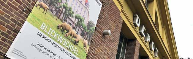 """""""Blickwechsel – Die Nordstadt(blogger)-Ausstellung""""ist ab Donnerstag-Abend in der Galerie im Depot zu sehen"""