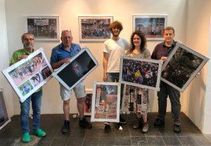 Wolf-Dieter Blank, Klaus Hartmann, Leopold Achilles, Carmen Körner und Alex Völkel zeigen fotografische Arbeiten, Foto: Sascha Fijneman