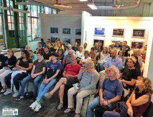 Auf großes Interesse stieß der Vortrag von Dr. Sebastian Kurtenbach. Fotos: Alex Völkel