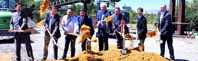 Investition von über einer Million Euro: Symbolischer Spatenstich für neue Waschkaue der EisenbahnDortmund