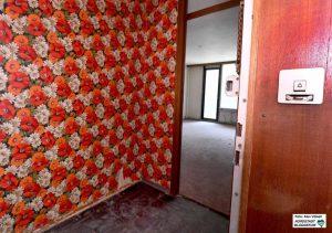 Seit Jahren stehen die Wohnungen leer - im Frühjahr wurden 85 Tonnen Hausrat entsorgt.