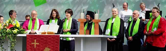 Kirchentag in Dortmund verlief als friedliches Miteinander, aber am Ende mit weniger BesucherInnen als erwartet