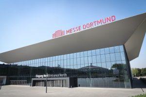 Inzwischen konnten die ersten BesucherInnen den neuen Messe Eingang Nord nutzen, der in diesem März in Betrieb genommen wurde.