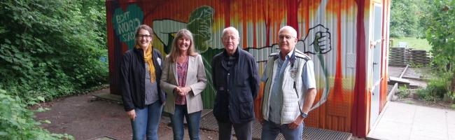Schützenbund-Nord: Quartiersfonds finanziert künstlerische Gestaltung des Vereinsheims – Tag der offenen Tür am 23. Juni