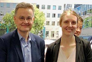 Festivaldirektor Torsten Mosgraber und ProjektleiterinLena Rudnick. Foto: Joachim vom Brocke