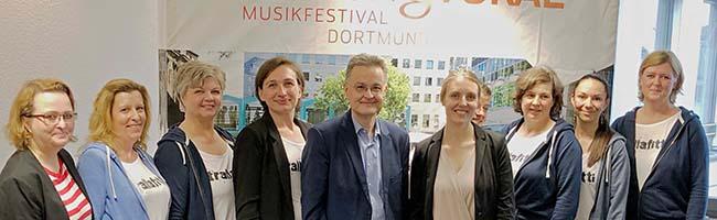 Dortmund singt: Zum beliebten Klangvokal-Musikfestival werden 4500 SängerInnen in der City erwartet