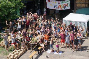 Gruppenfoto aus dem letzten Mastamo-Camp Foto: Lilja Radermacher