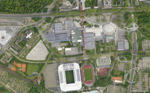 Bislang führt der Rad- und Fußweg noch durch das Gelände der Westfalenhallen.