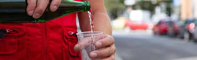 Schenken Sie Wasser! Die Wohnungslosenhilfe bodo e.V. warnt vor den Folgen der Hitzewelle für Obdachlose in Dortmund