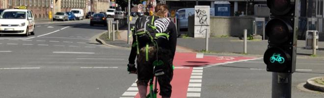 Fahrradunfälle: Hier liegen die Brennpunkte in Dortmund