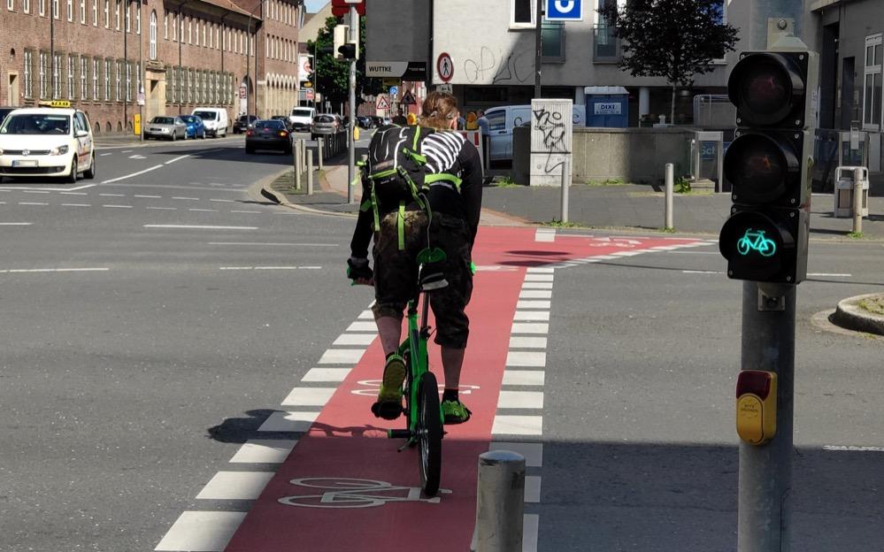 Radfahren in Dortmund ist vergleichsweise gefährlich und unattraktiv.