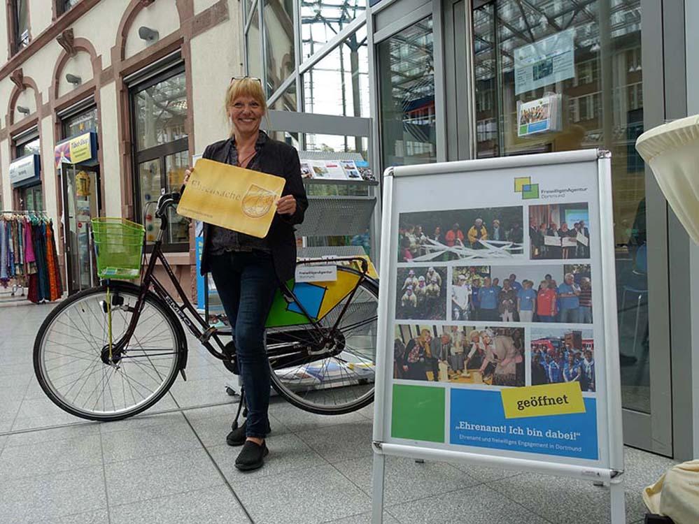 Karola Jaschewski ist Leiterin der FreiwilligenAgentur mit Sitz in der Berswordt-Halle.
