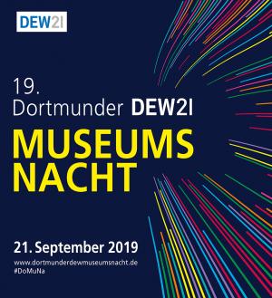 Plakatmotiv zur 19. Dortmunder DEW21-Museumsnacht.