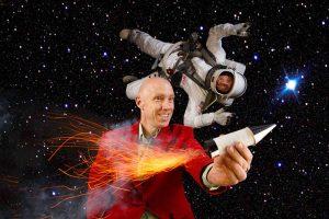 Anlässlich des 50-jährigen Jubiläums der Mondlandung präsentieren die Physikanten als Deutschlands größte Wissenschafts-Comedy-Gruppe ihre große Astro-Show.