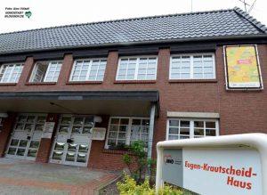 Im Eugen-Krautscheid-Haus am Westpark ist eine AWO-Tagespflege - hier findet auch die Pflegepause statt.