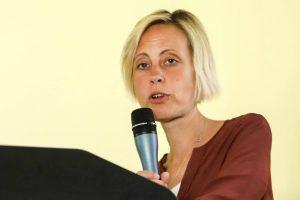Birgit Naujoks vom Flüchtlingsrat NRW