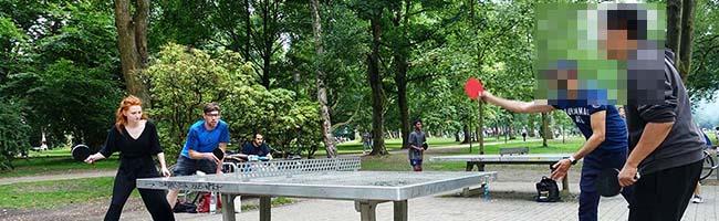 """Ping Pong-Ferienspaß: Im August findet in Dortmund das erste """"Westpark Open""""-Tischtennis-Doppel-Turnier statt"""