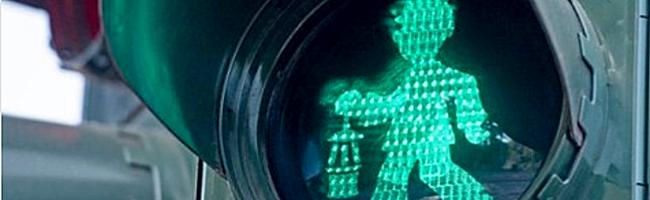 """Eving: Nun gibt es doch """"Grünes Licht"""" für die Bergmann-Ampelmännchen im Bereich der Zeche Minister Stein"""