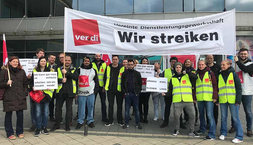 Trotz der Repressionen treten Teile der Belegschaft weiterhin in den Streik.