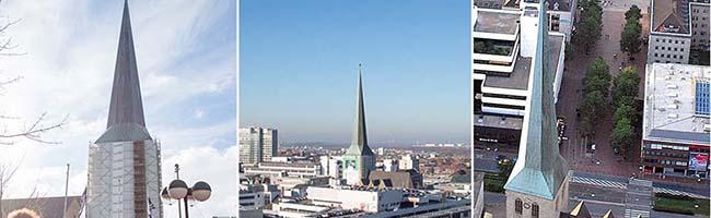 Der Turm von St. Petri Dortmund ist Denkmal des Monats September: Die Gefahr eines Steinschlags ist gebannt