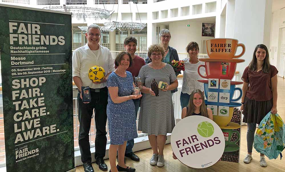 """Die Mitglieder vom Aktionsbündnis """"Fairer Handel"""" haben einumfangreiches Programm für das zweite Halbjahr 2019 vorgelegt."""