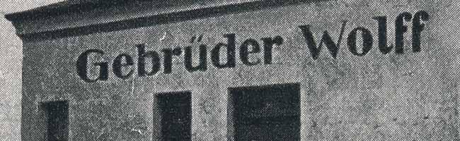 SERIE Nordstadt-Geschichte(n): Die Firma der Gebrüder Wolff war eine markante Adresse im Dortmunder Hafen