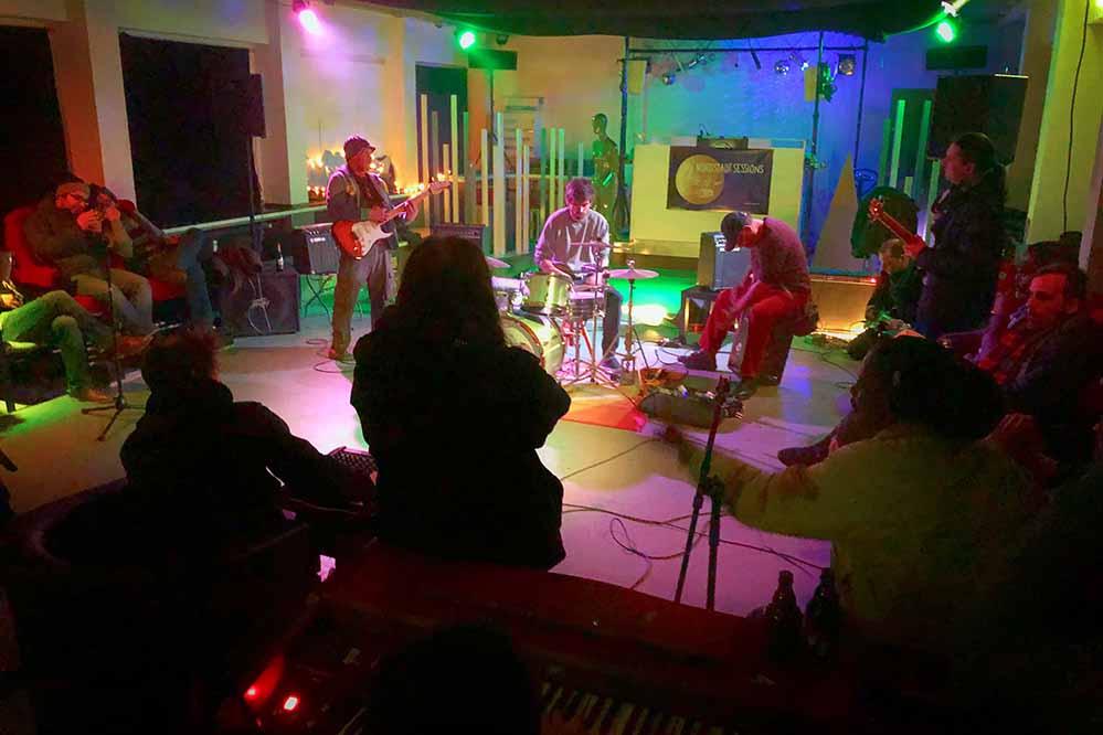An jedem zweiten Freitag findet die Jam-Session in der DO-BO-Villa statt. Foto: Borsig11