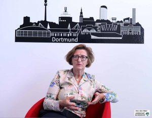 Heike Bettermann ist Chefin der Agentur für Arbeit in Dortmund. Foto: Alex Völkel