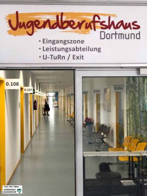 Im Jugendberufshaus arbeiten Arbeitsagentur, Jobcenter und Stadt Dortmund Hand in Hand.