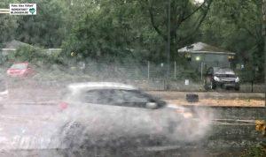 Das andere Extrem: Wenn es regnet, kommt es häufiger zu Starkregen-Ereignissen. Foto: Alex Völkel