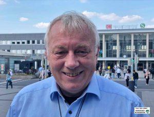 Der GrünenPolitiker Mario Krüger ist neuer Vorsitzender der Schutzgemeinschaft gegen Fluglärm.
