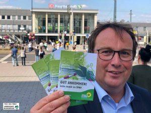 Oliver Krischer, stellvertretender Vorsitzender der Grünen-Bundestagsfraktion, warb für ein Umdenken.