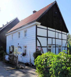 Eine Rarität aus Holz ist das Haus Schüruferstraße 246. Foto: Susanne Maluck/ Denkmalbehörde Dortmund