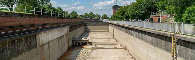 Schleusen-Instandsetzung verläuft nach Plan: Dortmund ist wieder an das Wasserstraßennetz angeschlossen