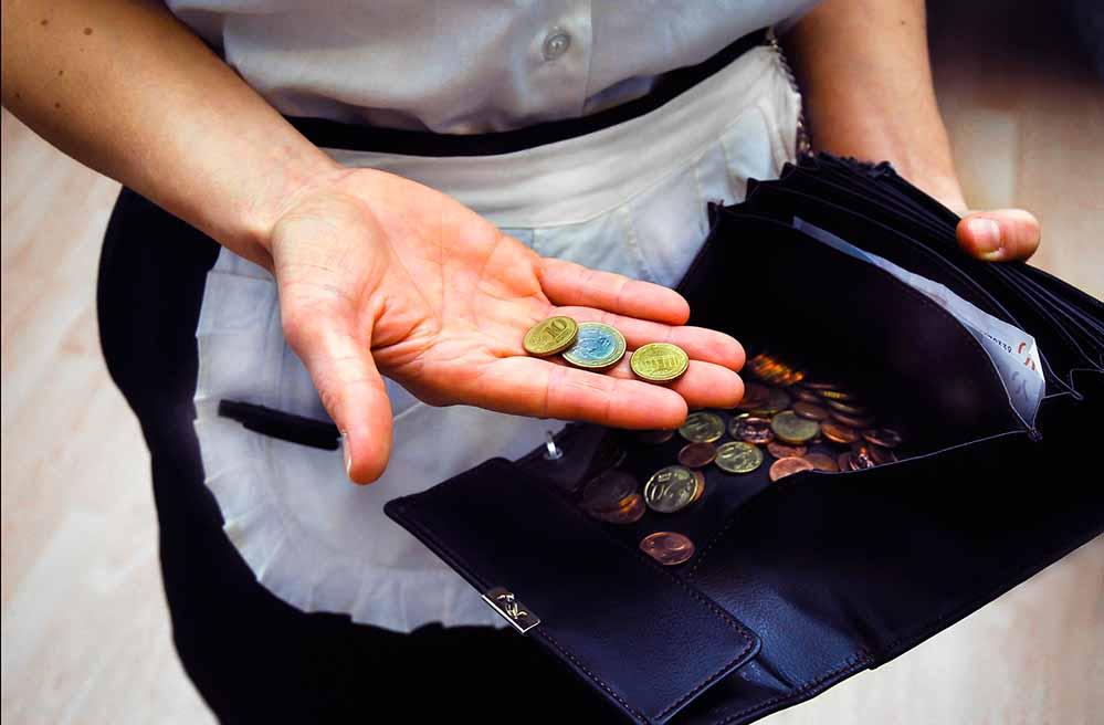 Chefin übers eigene Portemonnaie: Kellnerinnen und Köche entscheiden selbst, was mit dem Trinkgeld passiert – nicht aber der Chef. Foto: NGG