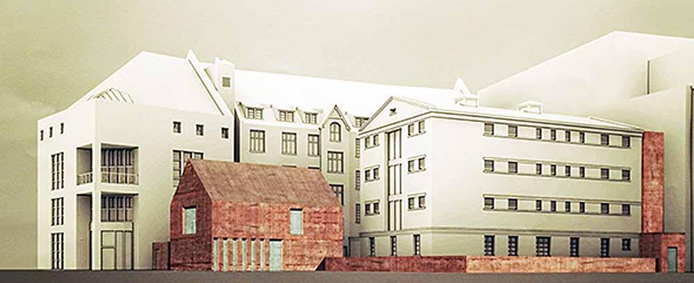 Zwischen Auslandsgesellschaft und Steinwache soll ein zweiter Hof entstehen.