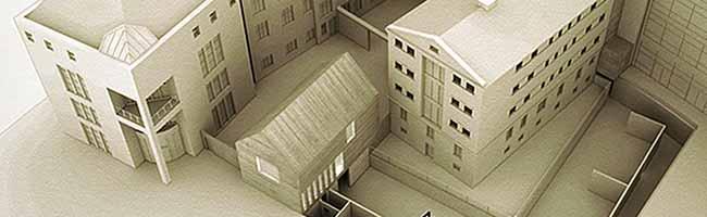 Mehr Platz für die Mahn- und Gedenkstätte Steinwache: Ergebnisse des Architektenwettbewerbs sind ausgestellt