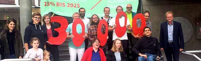 """""""Aufbruch Fahrrad"""" überreicht in Dortmund symbolisch Unterschriften und erhöht den Druck auf Stadt und Land"""